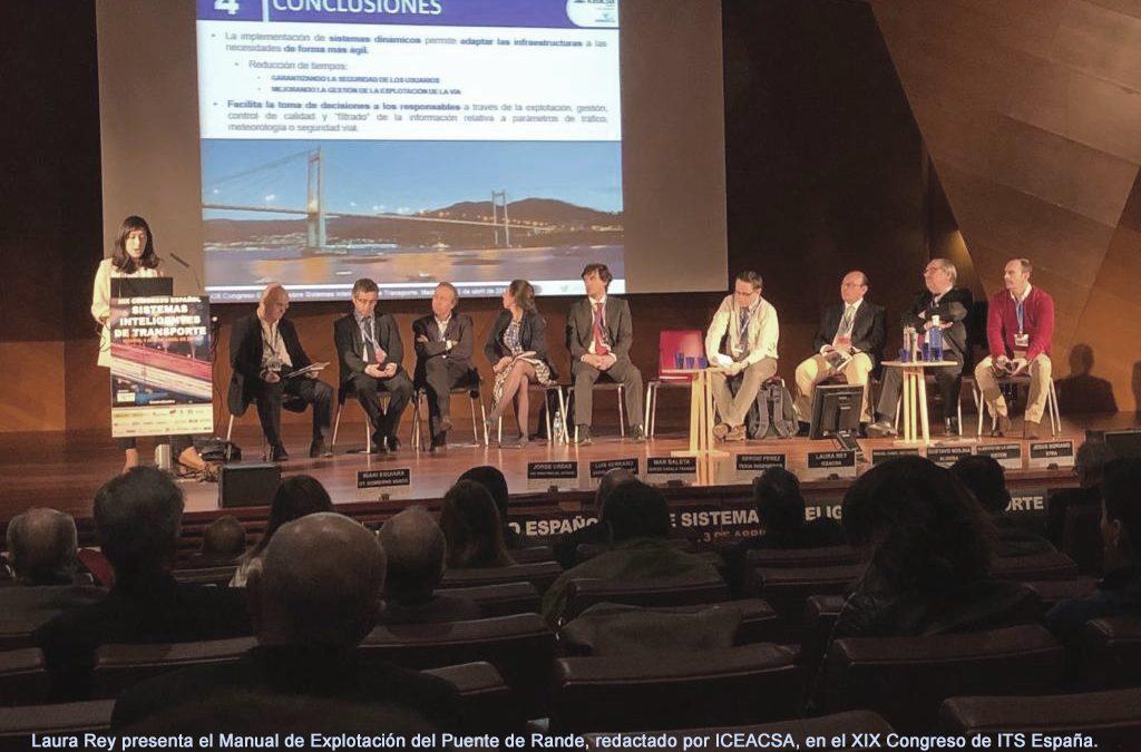 Iceacsa redacta el Manual de Explotación del puente de Rande, cuya ampliación ha sido premiada como «Mejor proyecto ITS en infraestructura 2019»