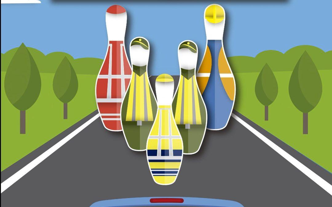 La DGT apela a la responsabilidad de los conductores ante la presencia de personal trabajando en las carreteras