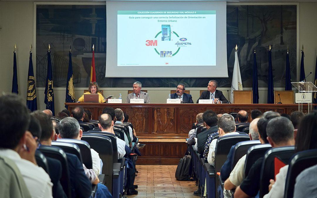 """Presentación de la """"Guía para conseguir una correcta señalización de orientación en entorno urbano"""""""