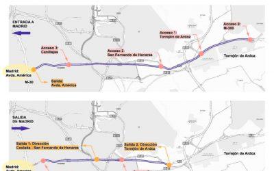 El Consejo de Ministros autoriza el Convenio para crear el carril Bus-VAO en la autovía A-2