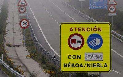 Mitma avanza en el sistema de protección antiniebla en la A-8 entre Mondoñedo y A Xesta
