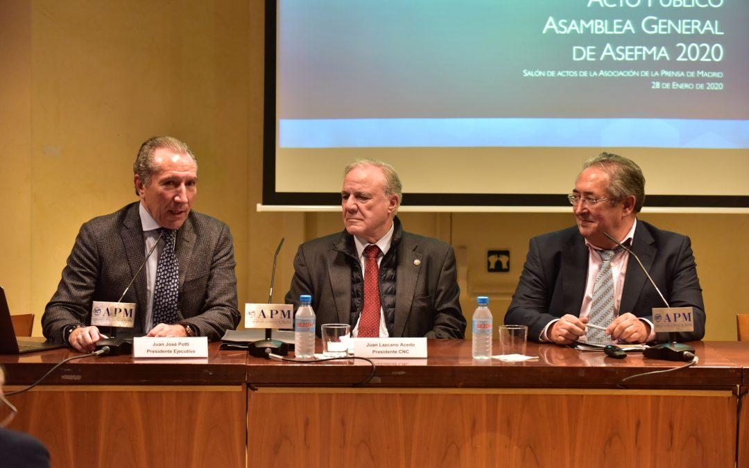 Asefma anuncia un aumento del 16,8% en el consumo de betún para mezclas asfálticas en 2019. la mitad de lo apropiado para España