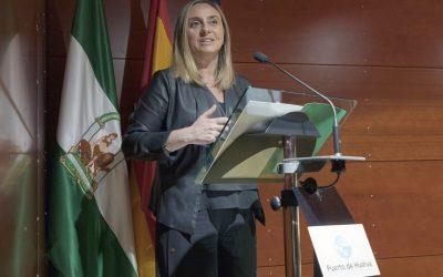 Marifrán Carazo presenta el proyecto de Compra Pública de Innovación del puente del Odiel