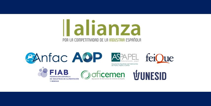 La Alianza por la Competitividad de la Industria Española, solidaria con toda la sociedad