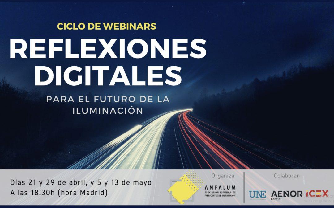"""Anfalum lanza mañana el primer webinar de su ciclo """"Reflexiones digitales para al futuro de la iluminación»"""
