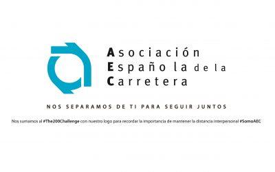 La Asociación Española de la Carretera se une a la campaña #The200Challenge