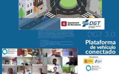 Sesión virtual de la DGT para difundir el funcionamiento de su plataforma 3.0