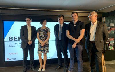 Eiffage lanza Sekoya, plataforma dedicada por completo a materiales y procesos con bajo contenido de carbono