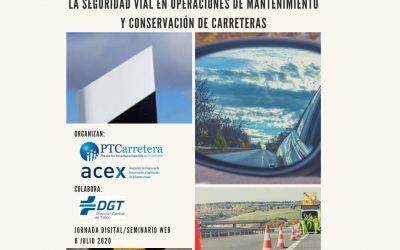 ACEX y PTC organizan un seminario web sobre innovación tecnológica para operaciones de mantenimiento viario