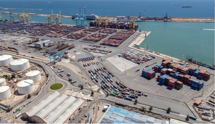 T-Systems analiza el flujo de camiones en el puerto de Barcelona