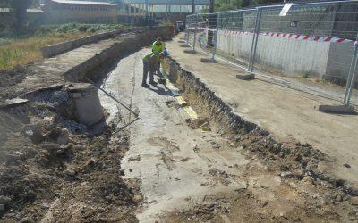 Elsamex acondiciona y mejora la Rúa Vilaverde, en Pontevedra