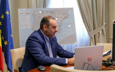 Ábalos anuncia que Mitma tendrá un papel protagonista en la inversión pública y en los estímulos fiscales a través de los fondos europeos