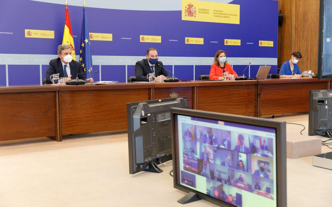 Ábalos anuncia que el anteproyecto de Ley de Movilidad Sostenible incluirá un Sistema Nacional de Movilidad