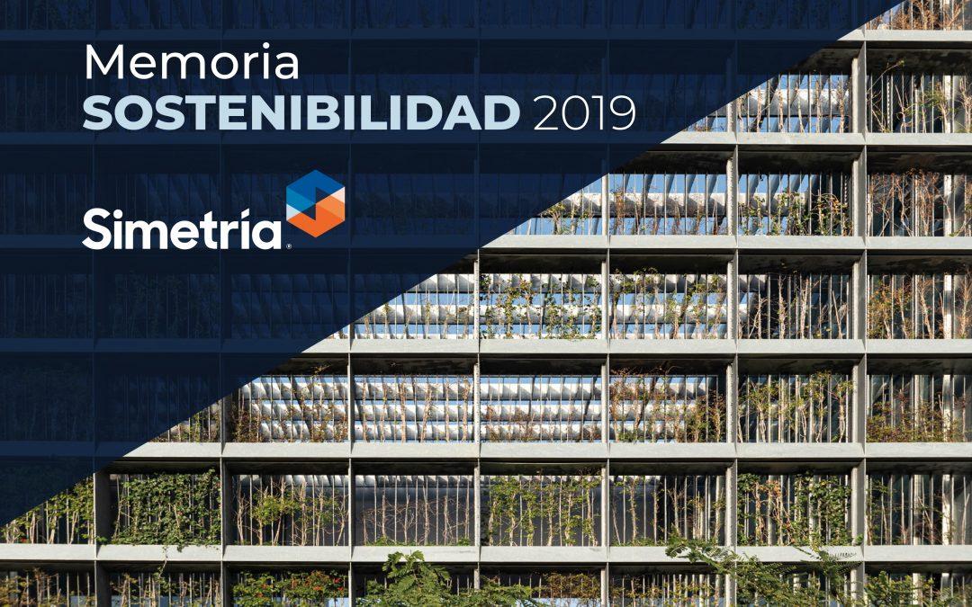 Simetría Grupo presenta su Memoria de Sostenibilidad 2019