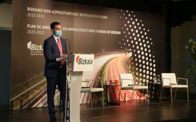 La Diputación Foral de Vizcaya aprueba el Plan de Innovación en Infraestructuras Viarias 2020 – 2023