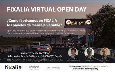 Fixalia celebra su Open Day 2020 el próximo 5 de noviembre