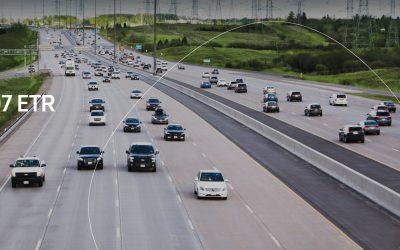 Ferrovial invierte en su autopista estrella, la 407 ETR canadiense