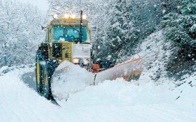 El Plan de Vialidad Invernal de Huesca cumple 40 años atendiendo a las carreteras