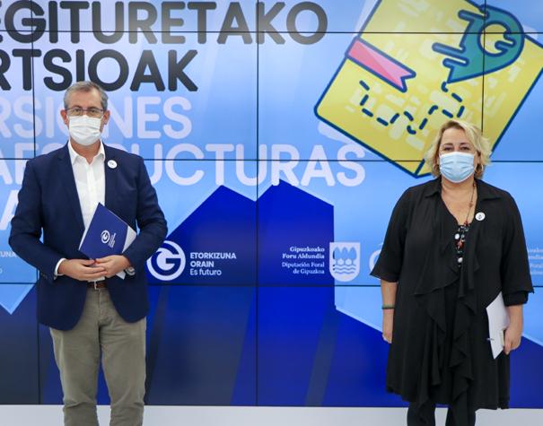 Gipuzkoa reactiva la inversión de 42 millones de euros en cuatro proyectos clave para la movilidad