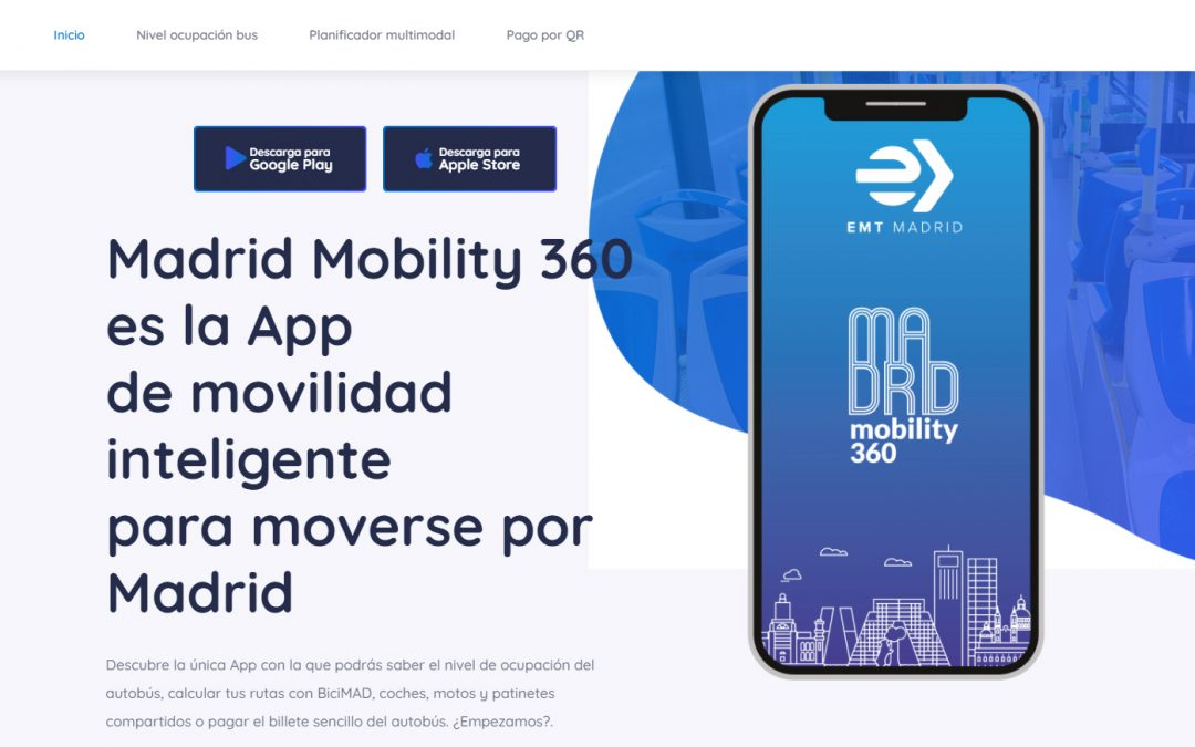 Madrid Mobility 360, la app de movilidad inteligente para la capital