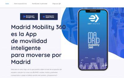 Madrid Mobility 360, la app de movilidad inteligente para la capital