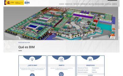 La Comisión Interministerial para la incorporación de la metodología BIM en la licitación pública estrena web