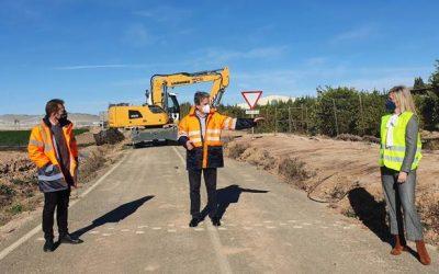 Casi 800.000 euros para mejorar la seguridad vial de la carretera que une Balsicas con Los Alcázares