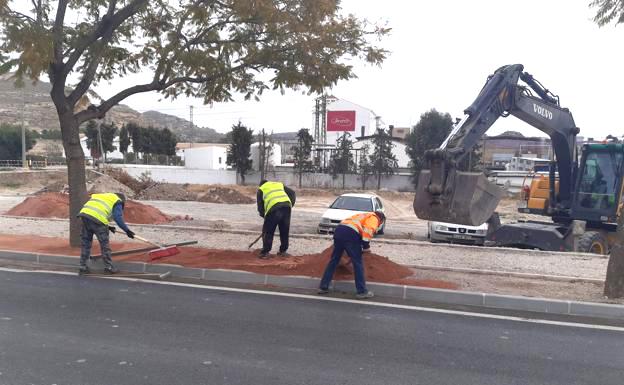 Las mejoras en seguridad vial en la carretera entre Lorca y Caravaca estarán finalizadas en marzo