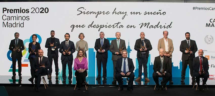 Entregados los Premios Caminos Madrid 2020
