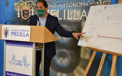 Melilla: Medio Ambiente inicia la prolongación del carril bici hasta el club marítimo