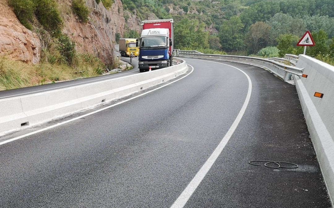 Givasa desarrolla una barrera de hormigón específica para carreteras 2+1