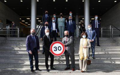 El Ministro del Interior inaugura una jornada de sensibilización en el marco de la VI Semana Mundial de la Seguridad Vial de la ONU
