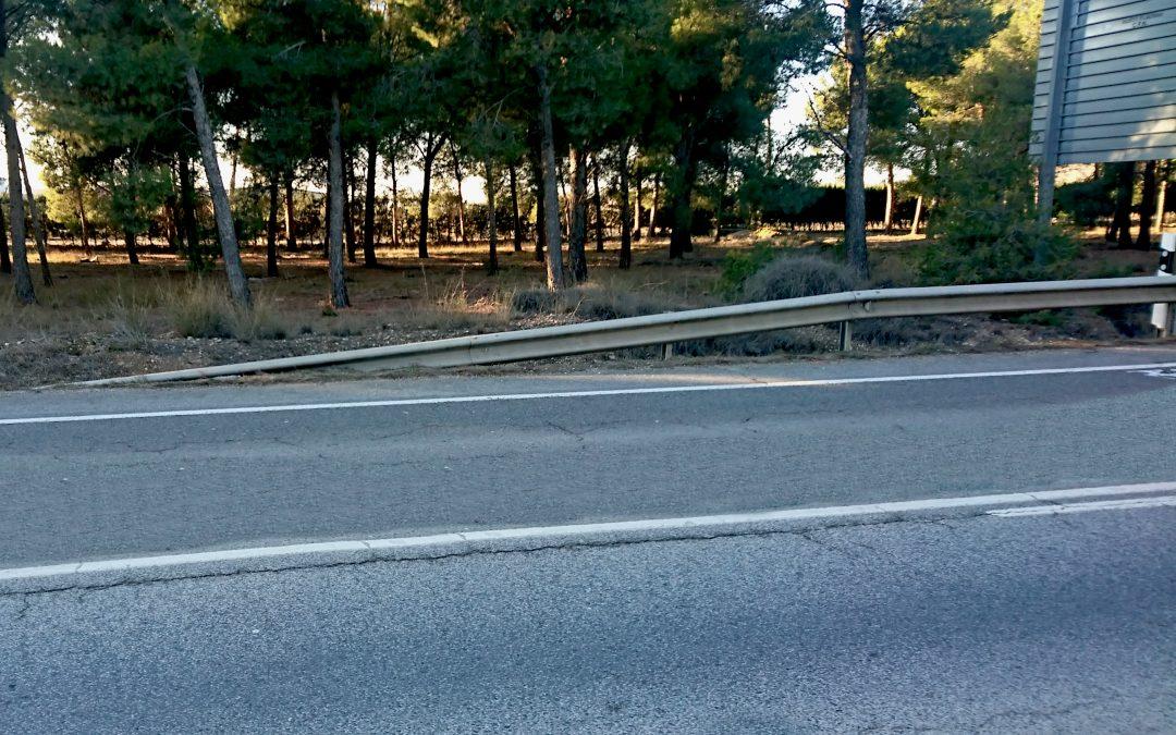 Navarra adaptará las barreras de contención de 22 carreteras con una inversión de 400.000 euros
