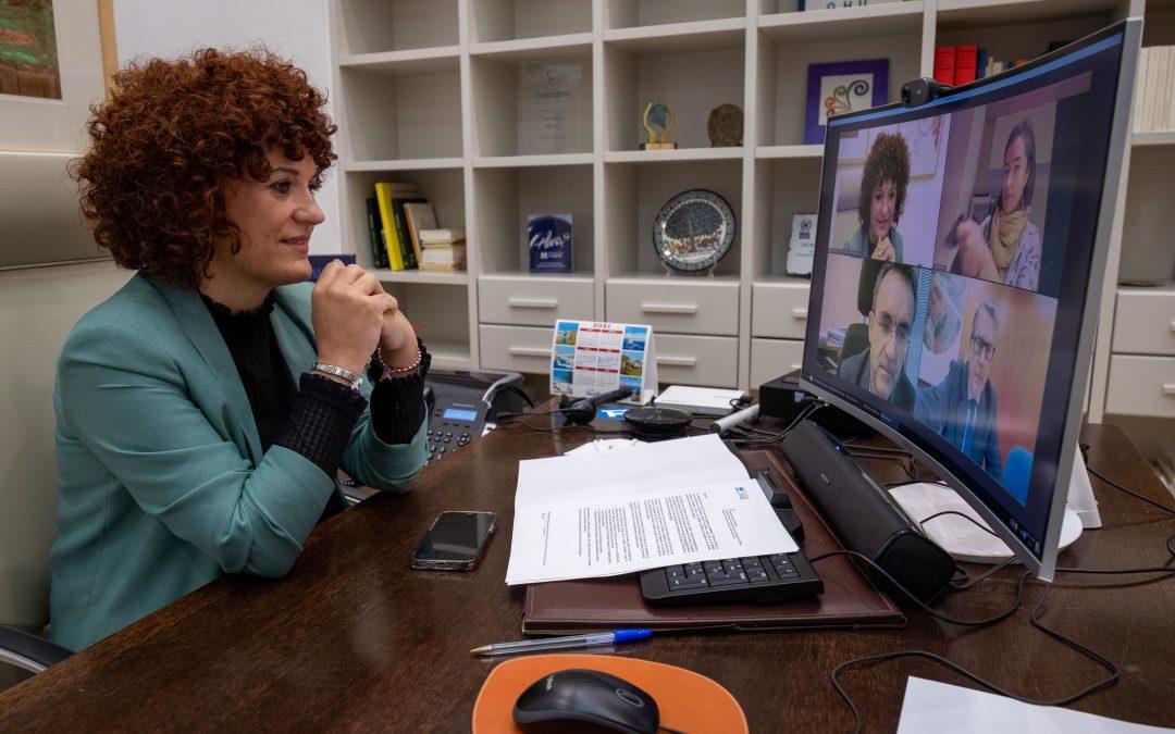 Diputación de Huelva habla con el Estado para acelerar la llegada de fibra óptica y 5G a la provincia