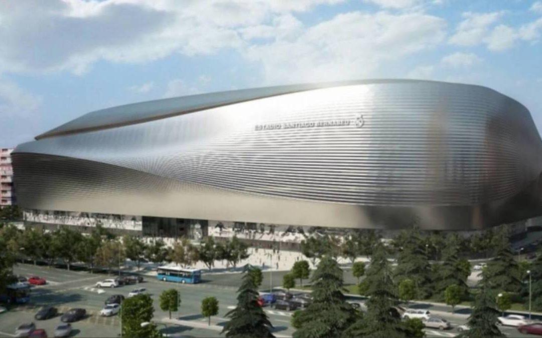 FCC Construcción avanza en el proyecto de transformación del estadio Santiago Bernabéu
