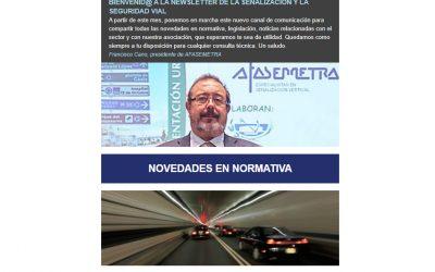 Afasemetra pone en marcha un newsletter con las novedades del sector
