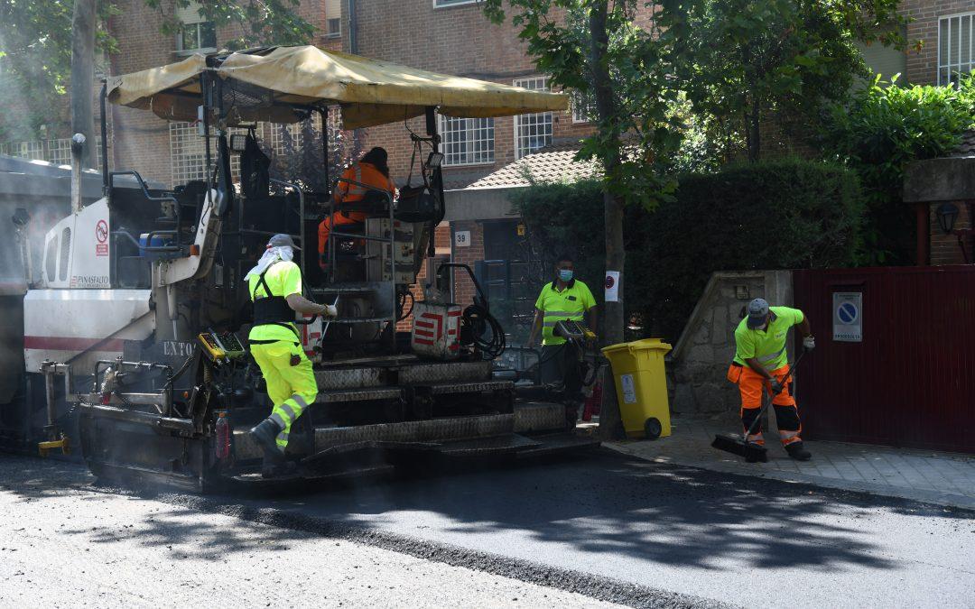 Madrid: luz verde a un tercer paquete de 7,3 millones y 112 calles para la Operación Asfalto 2021