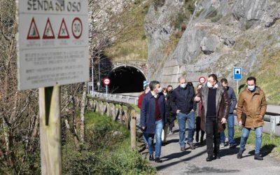 El Principado de Asturias destina más de 400.000 euros a mejorar la Senda del Oso