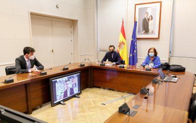 Vázquez Torrón señala la capacidad de las empresas españolas para participar en el nuevo plan de inversión de EEUU