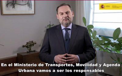 """Ábalos dice que los fondos europeos permitirán a España """"transformar su economía en clave verde, digital y social"""""""