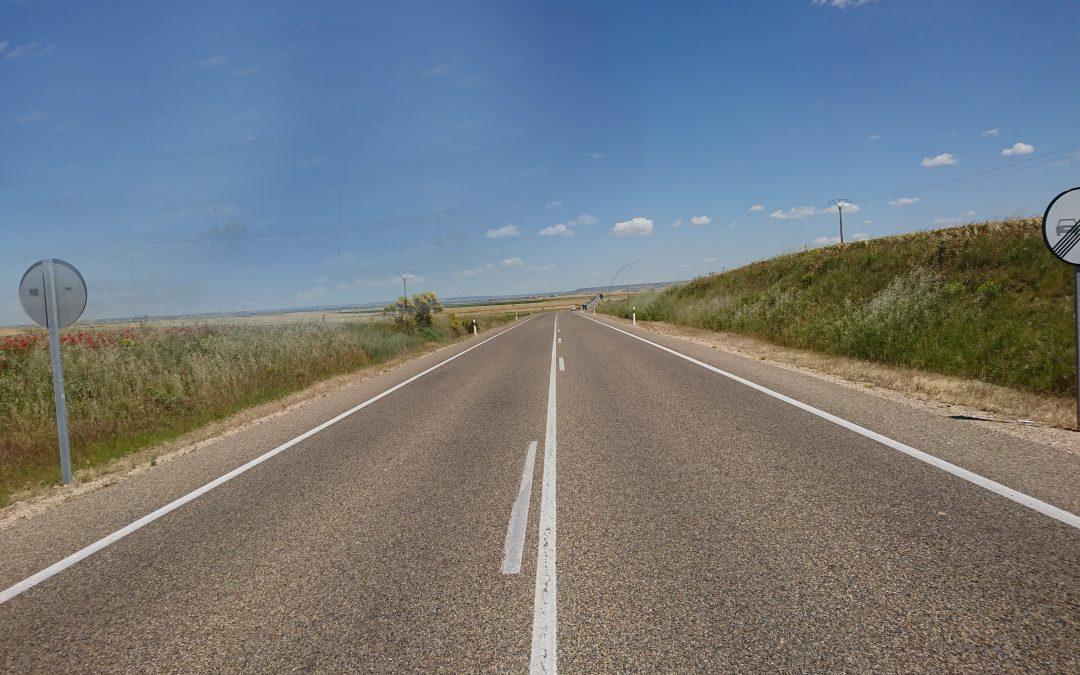 La Junta ejecuta obras de conservación en las carreteras P-131 y CL-619 por 400.000 euros