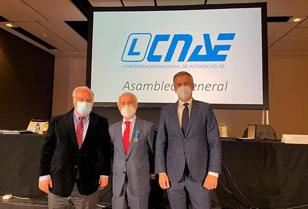Jacinto Pérez, de CNAE, distinguido por el Ministerio del Interior con la Medalla al Mérito de la Seguridad Vial