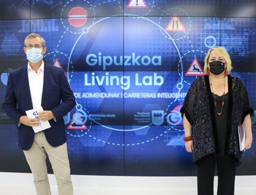 Las carreteras guipuzcoanas se convierten el laboratorio de nuevas tecnologías