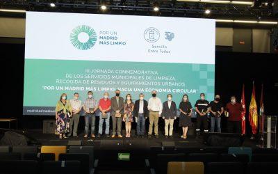 La Dirección General de Carreteras del Mitma recibe el premio «Por un Madrid más limpio»