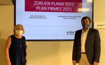 Álava: el Plan de Firmes 2021 invertirá 3 millones de euros para mejorar el pavimento de 68 carreteras