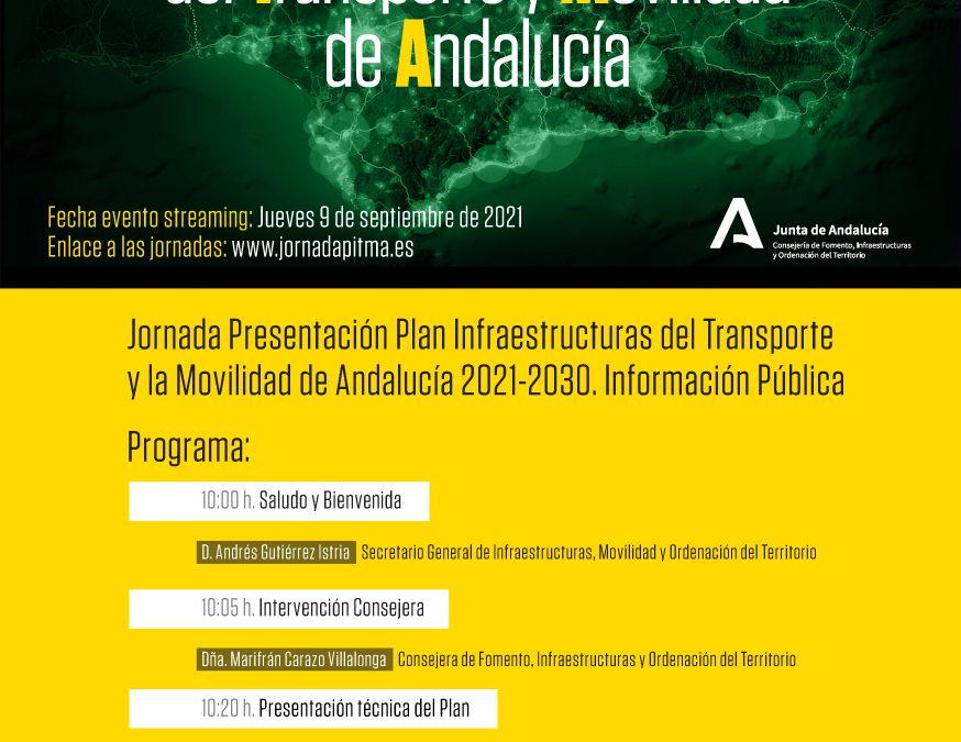 La Junta de Andalucía presenta a las entidades públicas y privadas su PITMA 2021–2030