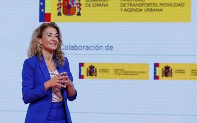 Raquel Sánchez muestra la apuesta del Gobierno por una movilidad como derecho ciudadano