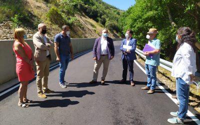 Diputación de León invierte 258.720 euros en la mejora de la carretera que da acceso a Compludo