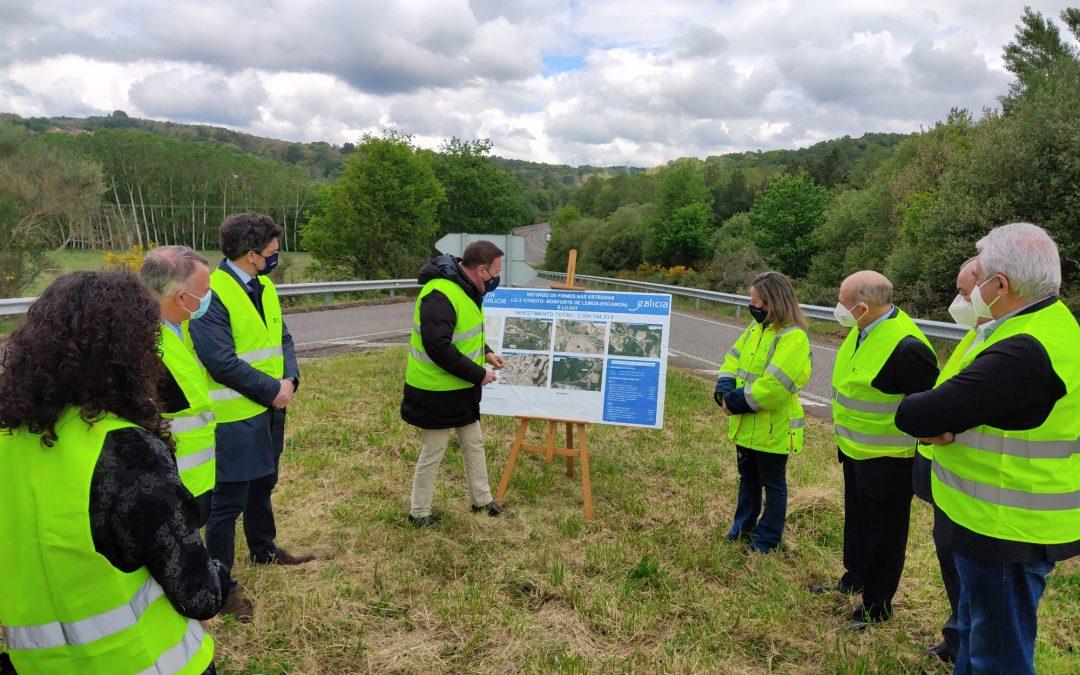 Galicia: la Xunta invierte dos millones en la mejora del firme de dos vías autonómicas de Lugo