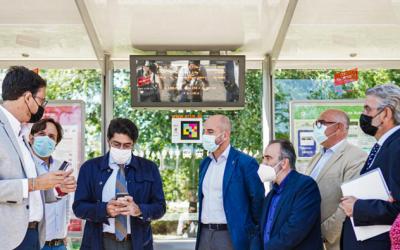 NaviLens, un nuevo sistema de señalización más accesible para los autobuses de la Comunidad de Madrid
